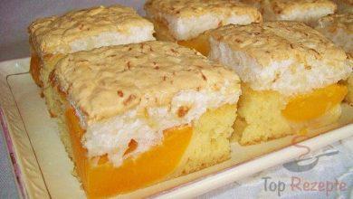 Photo of Aprikosenkuchen mit Kokosbaiser