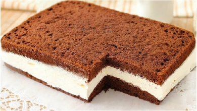 Photo of Milchschnittenkuchen – sehr einfach und super lecker !