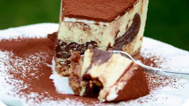 Photo of Kuhflecken Kuchen mit Schokolade