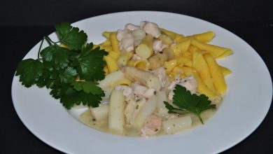 Photo of SPARGEL-PUTEN GESCHNETZELTES