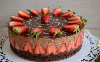 Photo of Schoko-Erdbeer-Mousse-Torte (Von Juliaskuchen)