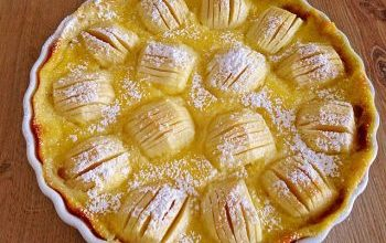 Photo of Pudding-Apfelkuchen