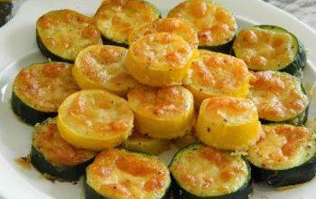 Photo of Zucchinischeiben Mit Käse Überbacken – Ein Super Schnelles Abendessen