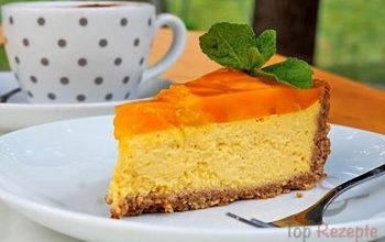 Photo of Glutenfreie Mango-Quarktorte