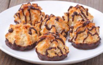 Photo of Kokoskuppeln Mit Schokolade