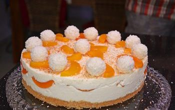 Photo of Pfirsich Raffaello Lecker Torte