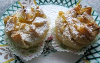 Photo of Topfenstrudelmuffins