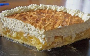 Photo of LECKERER Apfel – Schmand – Torte
