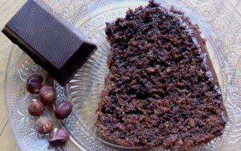 Photo of Bananen-Haferflocken-Kuchen Mit Schokolade Überzogen